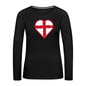 English heart - Women's Premium Longsleeve Shirt