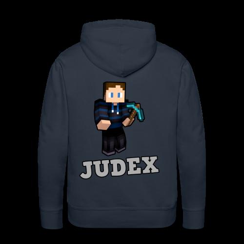 Judex Skin Hættetrøje - Herre Premium hættetrøje