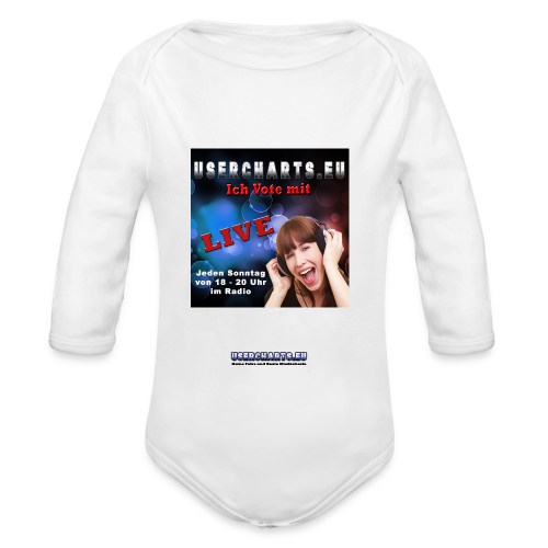 Polo-Shirt mit neuem Logo - Baby Bio-Langarm-Body