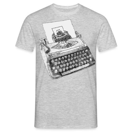 Typewritten Typewriter...writer..er - Männer T-Shirt
