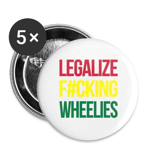 LegalizeF#ckingWheelies Snapback - Buttons mittel 32 mm (5er Pack)