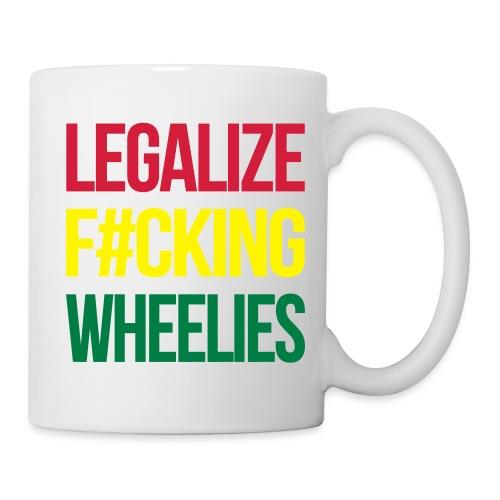 LegalizeF#ckingWheelies Snapback - Tasse