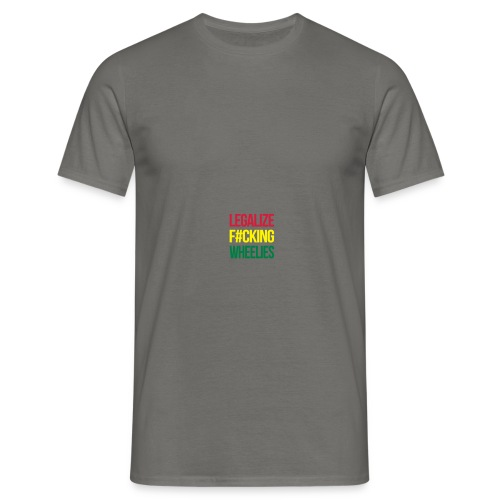 LegalizeF#ckingWheelies Snapback - Männer T-Shirt