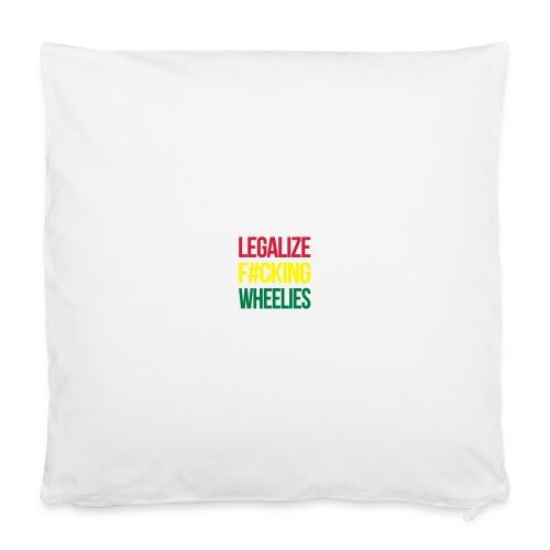 LegalizeF#ckingWheelies Snapback - Kissenbezug 40 x 40 cm
