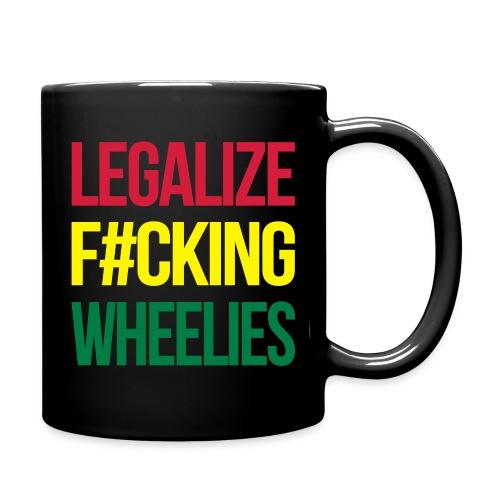 LegalizeF#ckingWheelies Snapback - Tasse einfarbig