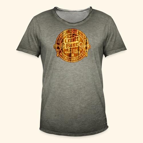 Craft Beer - Männer Vintage T-Shirt