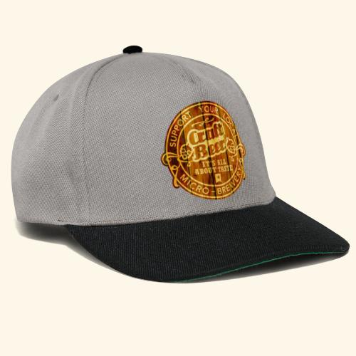 Craft Beer - Snapback Cap