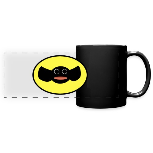 Batty Salmon mug - Full Color Panoramic Mug