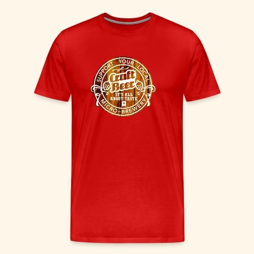 Craft Beer - Männer Premium T-Shirt