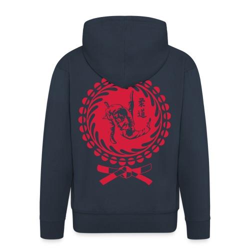 Judo Shirt Japan Style - Männer Premium Kapuzenjacke