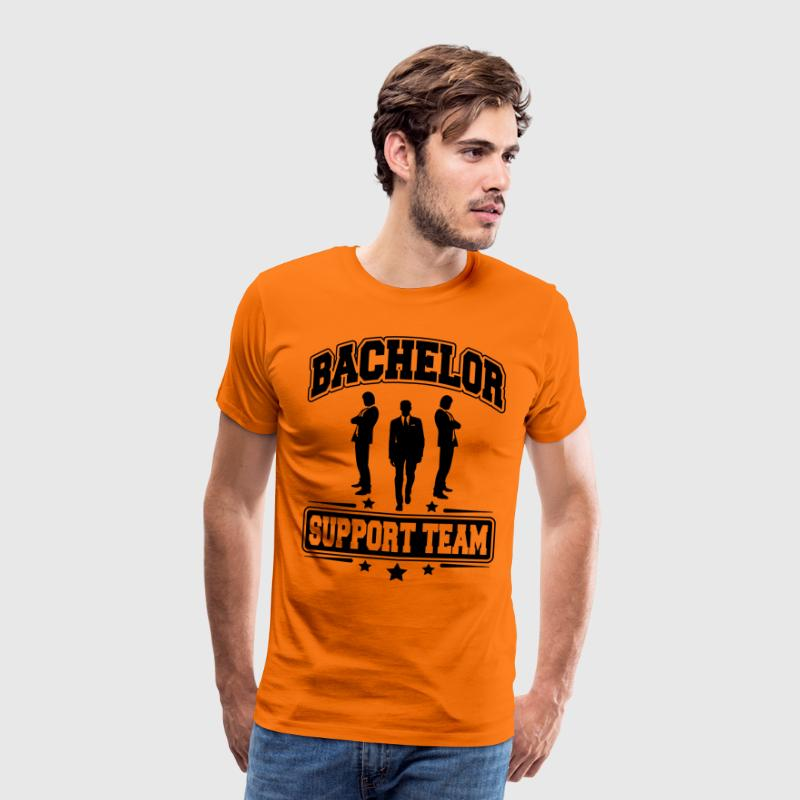 Bachelor Support Team T-shirts - Mannen Premium T-shirt