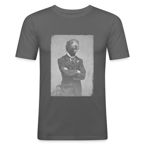Gentleman Wolfhound - T-shirt près du corps Homme