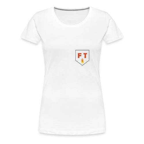 T-shirt Premium Femme - Design réalisé exclusivement pour la Team F&T