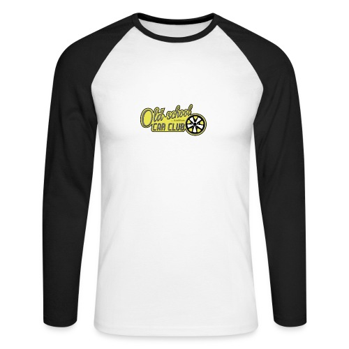 Oldschool Car Club Sweat - T-shirt baseball manches longues Homme
