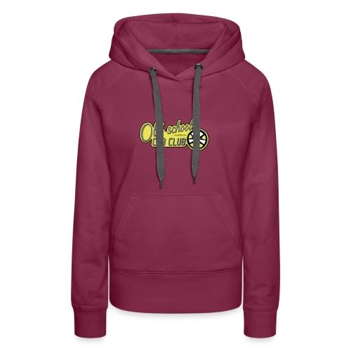 Oldschool Car Club Sweat - Sweat-shirt à capuche Premium pour femmes