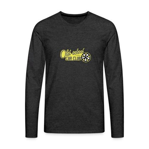 Oldschool Car Club Sweat - T-shirt manches longues Premium Homme
