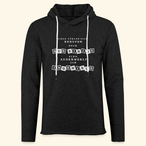 Ingenieur - Leichtes Kapuzensweatshirt Unisex