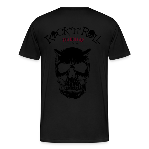 Rock'n'Roll velour - T-shirt Premium Homme