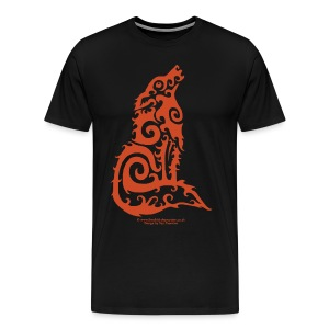 Firewolf - by Taz Thornton - Men's Premium T-Shirt
