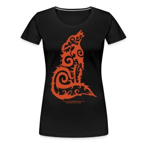 Firewolf - by Taz Thornton - Women's Premium T-Shirt