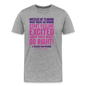 Get excited - Men's Premium T-Shirt