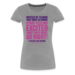 Get excited - Women's Premium T-Shirt