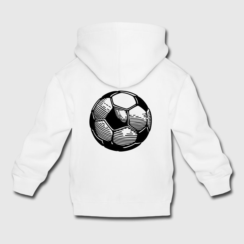 ballon foot Sweats - Pull à capuche Premium Enfant