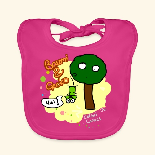 Baumi & Gecko - Baby Bio-Lätzchen