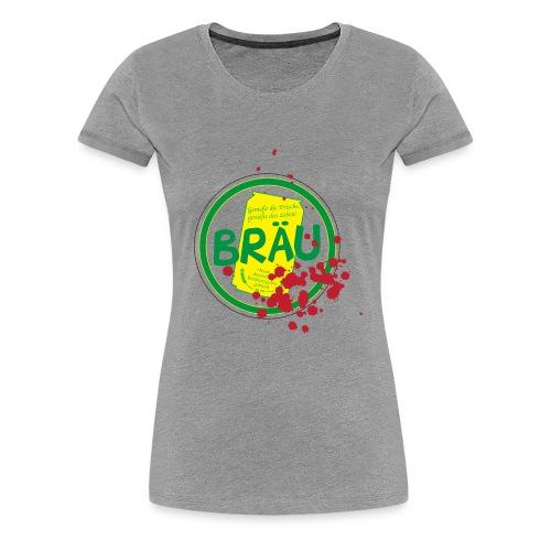 Totenstadt Bräu - Blut-Version - Frauen Premium T-Shirt