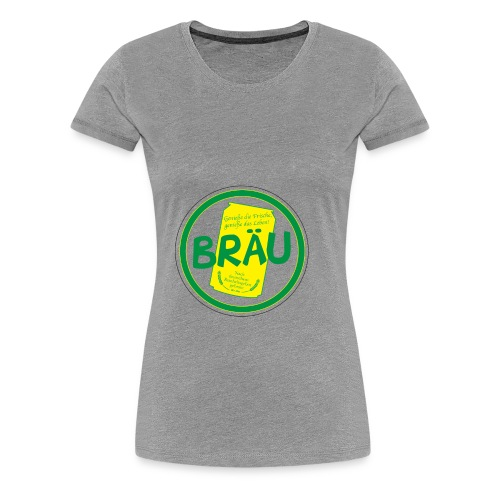 Totenstadt Bräu - Frauen Premium T-Shirt