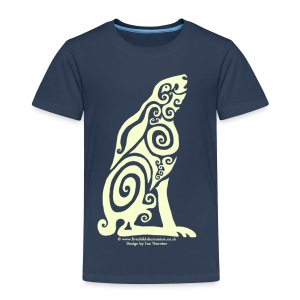 Spirit Animal - Moon Hare - Kids' Premium T-Shirt
