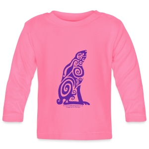 Spirit Animal - Purple Hare - Baby Long Sleeve T-Shirt