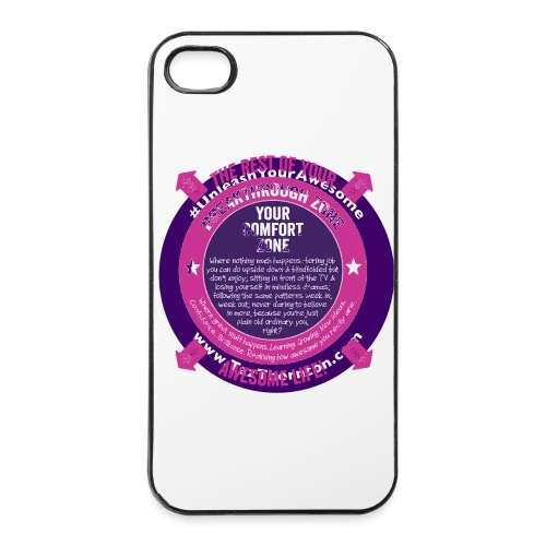 Life Beyond Your Comfort Zone - iPhone 4/4s Hard Case