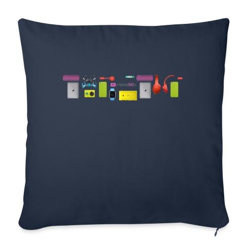 Maglietta Premium PensareMac - Copricuscino per divano, 44 x 44 cm