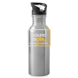 Sound of Play Black - Water Bottle