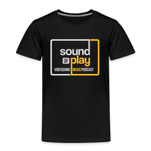 Sound of Play Black - Kids' Premium T-Shirt