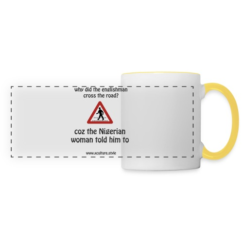 Why did the englishman cross the road? - Panoramic Mug