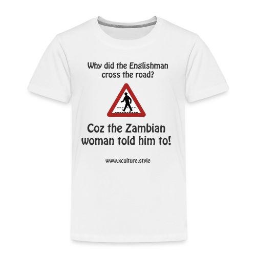 Why did the english man cross the road - Kids' Premium T-Shirt