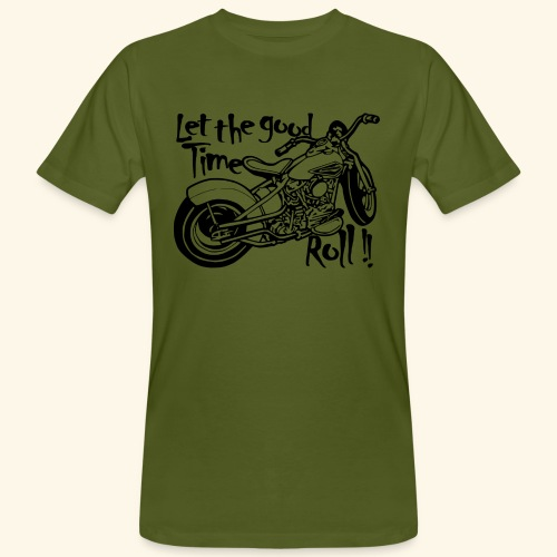 Good time - T-shirt bio Homme