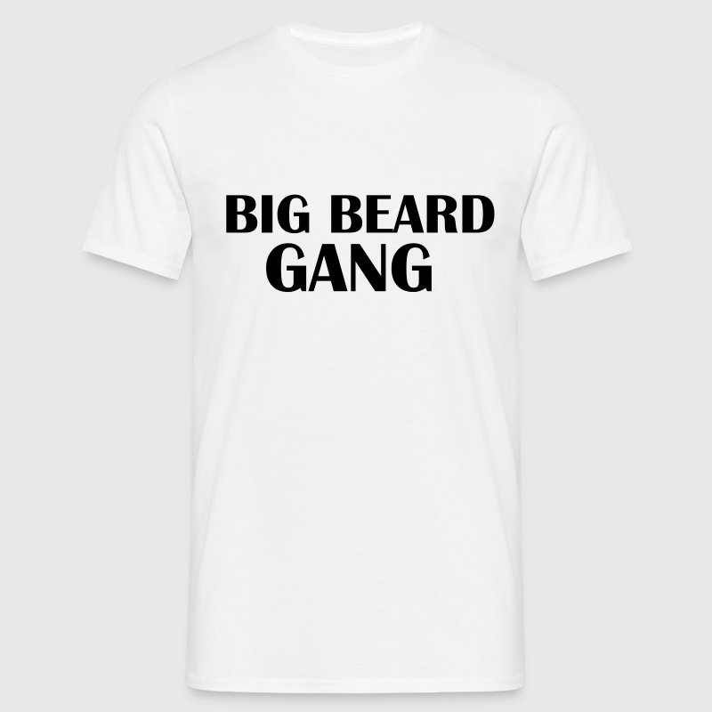 Big beard Gang - Männer T-Shirt