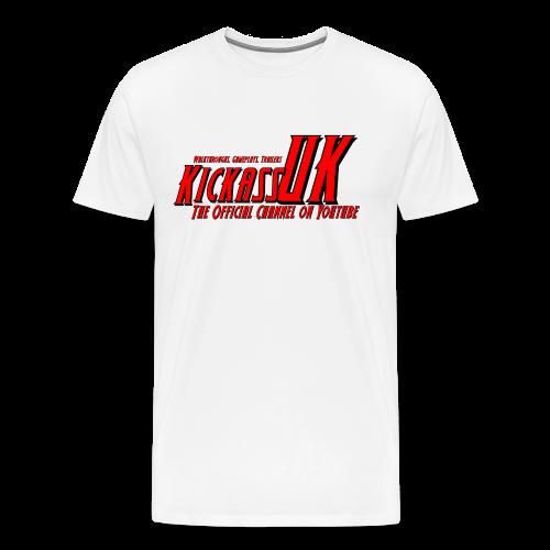 Mens KickassUK Main Logo T-Shirt - Men's Premium T-Shirt
