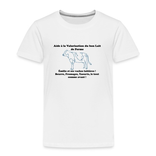 T-shirt Premium Enfant - Toutes les commissions vendus sur ces badges lui seront retransmis.