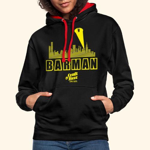 BARMAN - Kontrast-Hoodie