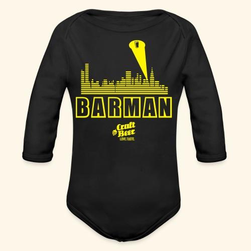 BARMAN - Baby Bio-Langarm-Body