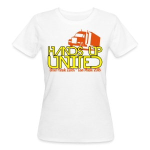 Hands Up United Frauen Top (Weiss) - Frauen Bio-T-Shirt