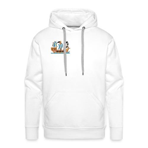 Piratenschiff - Männer Premium Hoodie