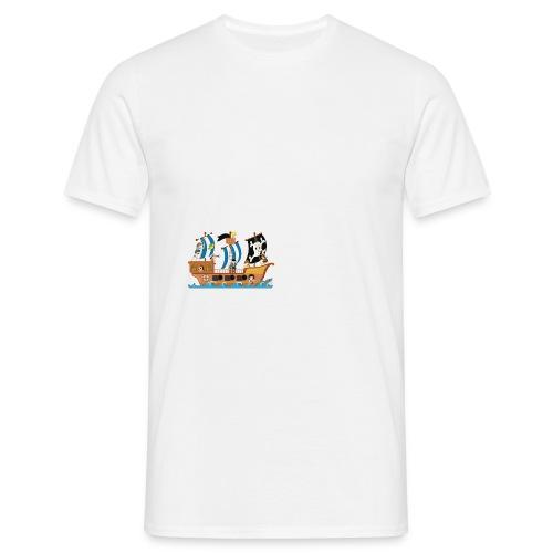 Piratenschiff - Männer T-Shirt