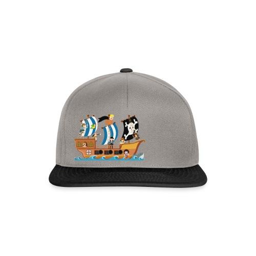 Piratenschiff - Snapback Cap