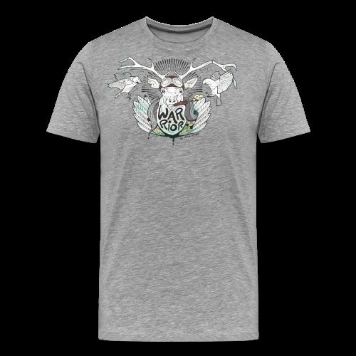 Warrior stag - T-shirt Premium Homme