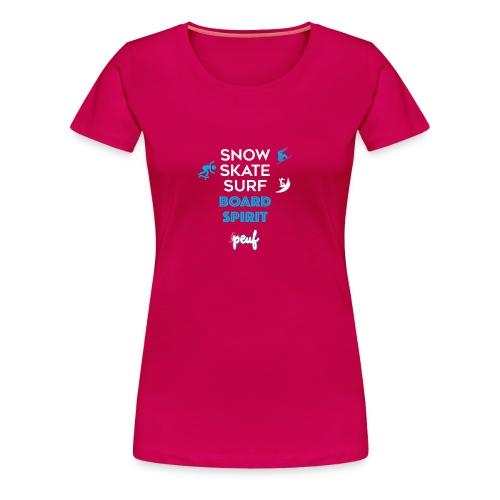 Girl • Board spirit - Women's Premium T-Shirt